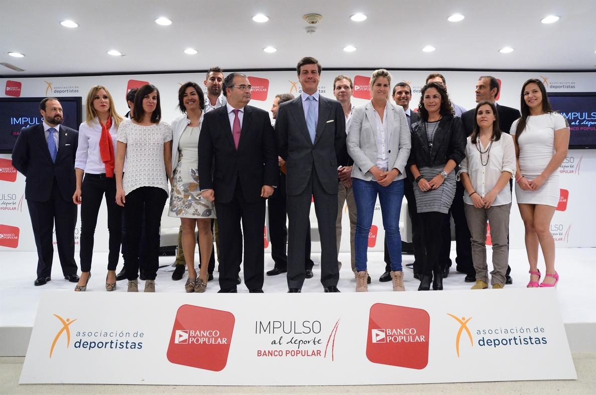 Banco Popular becará a nueve deportistas de élite durante 3 años