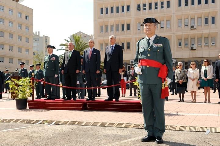 El general de Brigada Antonio Tocón toma posesión de su cargo como nuevo jefe de Zona de la Guardia Civil en Aragón