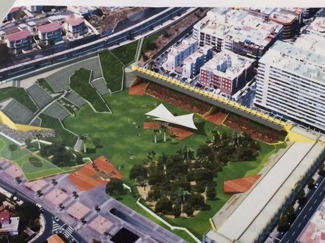 Cabildo y Ayuntamiento de Las Palmas de Gran Canaria trabajan ya en la conversión del antiguo Estadio Insular en parque