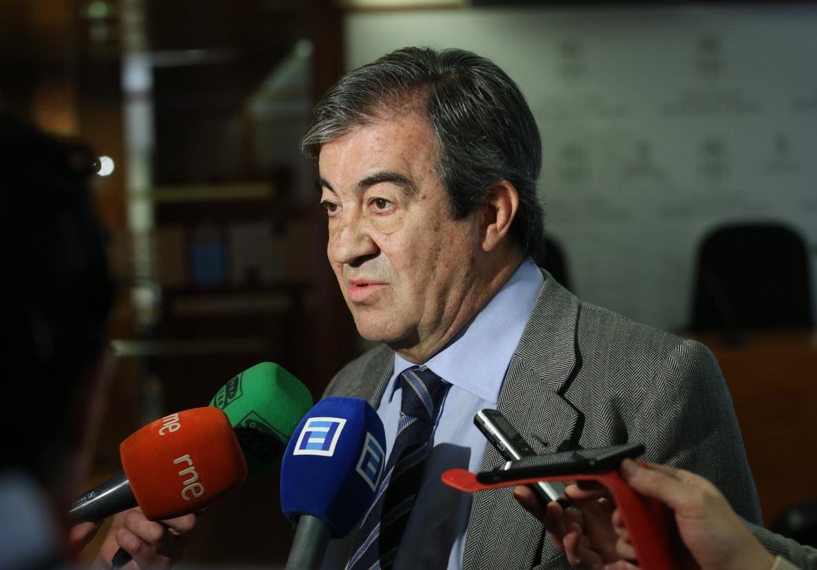 Cascos confía en que el PSOE reconozca que Foro tenía razón al recurrir judicialmente la supresión de fondos mineros