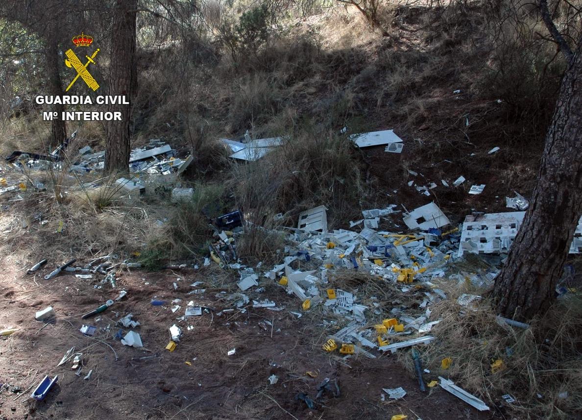 Detenidos los 6 integrates de una organización criminal dedicada al robo de cobre en la comarca del Noroeste