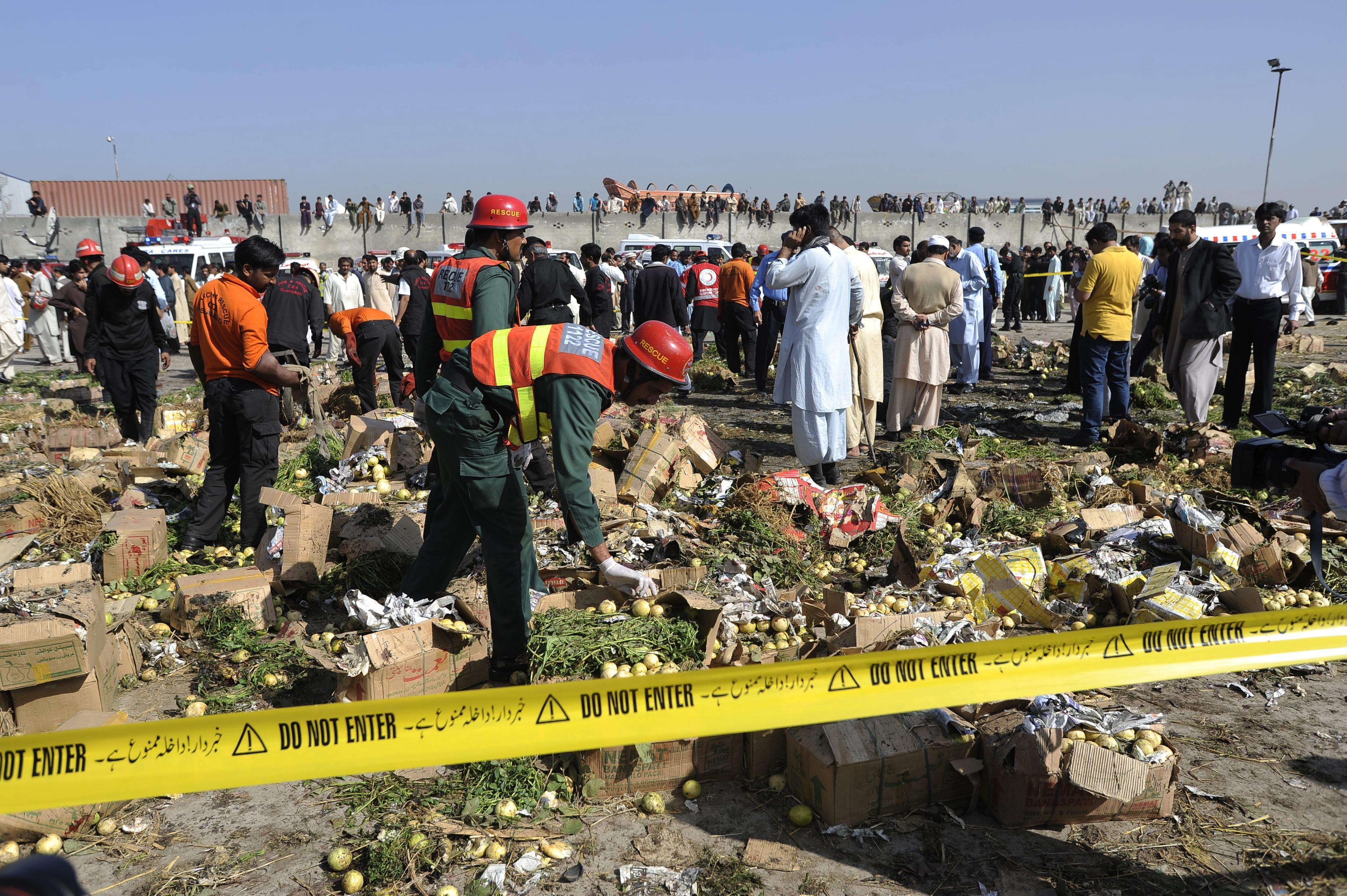 Mueren siete personas tiroteadas en un hotel en el oeste de Pakistán