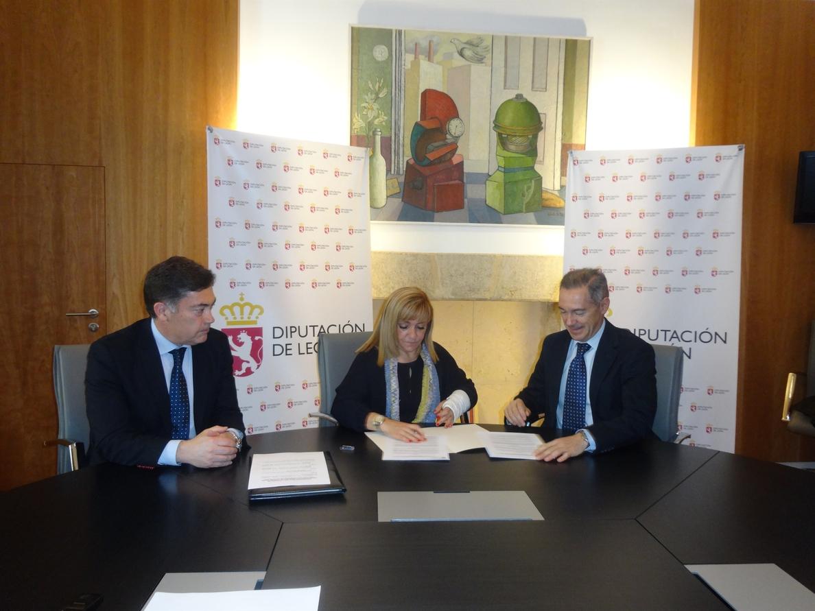 La Diputación de León apoya con 13.000 euros un programa de tratamiento psicológico de la AECC