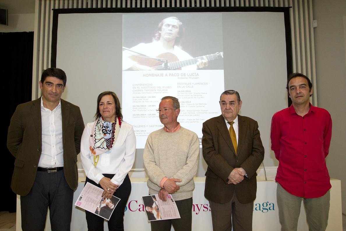 El Entorno Thyssen homenajea a Paco de Lucía con conferencias, recitales al aire libre y actividades
