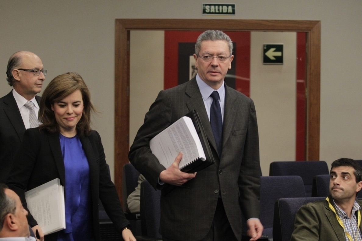 Gallardón anuncia que ningún cargo público podrá testificar por escrito cuando sea citado por el juez