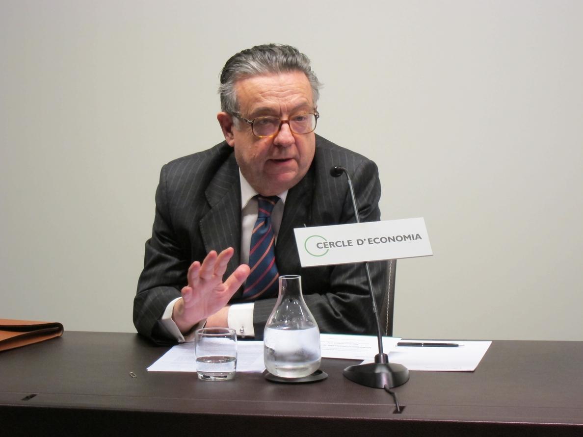 Herrero de Miñón pide un instrumento de Gobierno para Cataluña «pactado con el Estado»