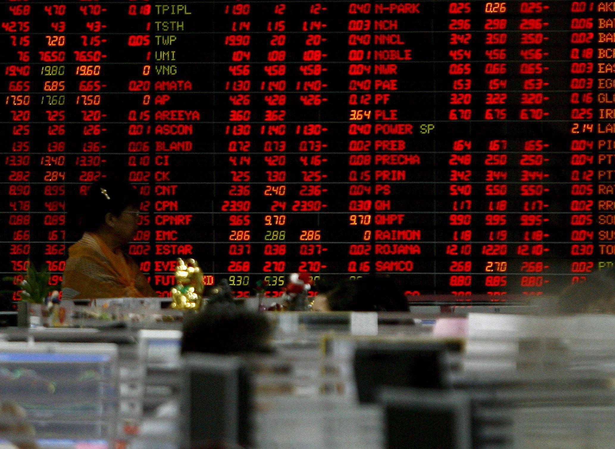 Mayoría de ganancias en jornada festiva en las bolsas del Sudeste Asiático