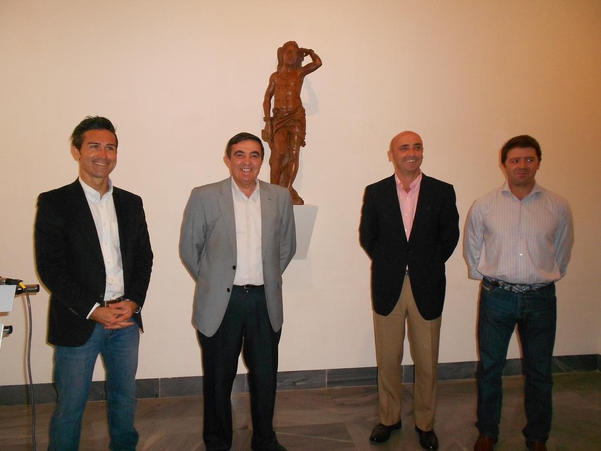 El Museo Provincial cuenta con la escultura conservada más antigua del patrón San Sebastián