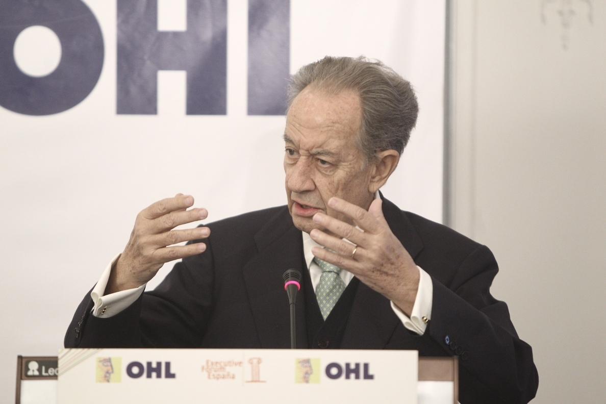 OHL propondrá a su junta elevar un 4,6% su dividendo, hasta 0,6777 euros por acción
