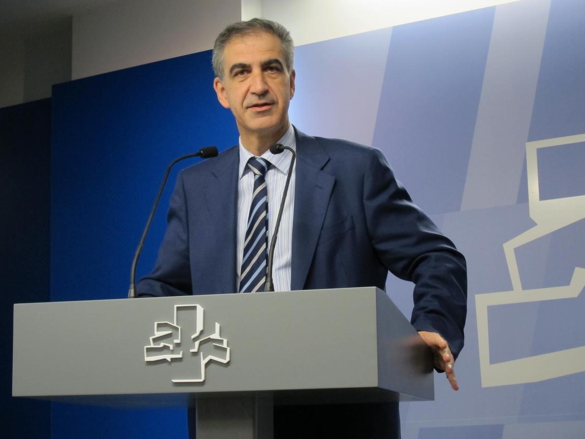 PP vasco cree que en Cataluña no se busca «mejorar la Constitución y la convivencia» sino «ponerles fin»