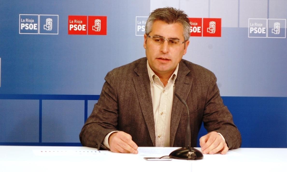 El PSOE se «alarma» y afirma que el Gobierno riojano «ha pedido dos millones al día de deuda» este año