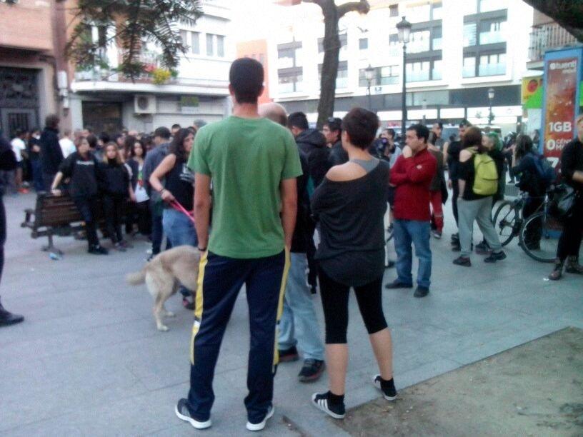 Pasan a disposición judicial los detenidos ayer en una protesta contra el desalojo de la Escuela Taller de Alcorcón