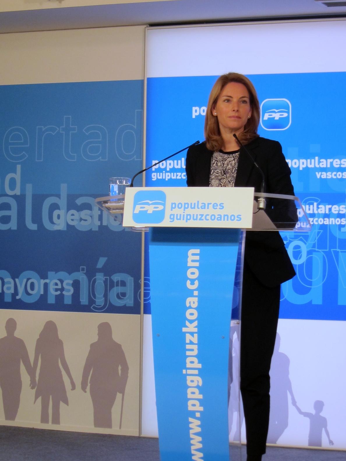 Quiroga critica la «decadencia» de Urkullu que presenta a Euskadi «como un problema para España»