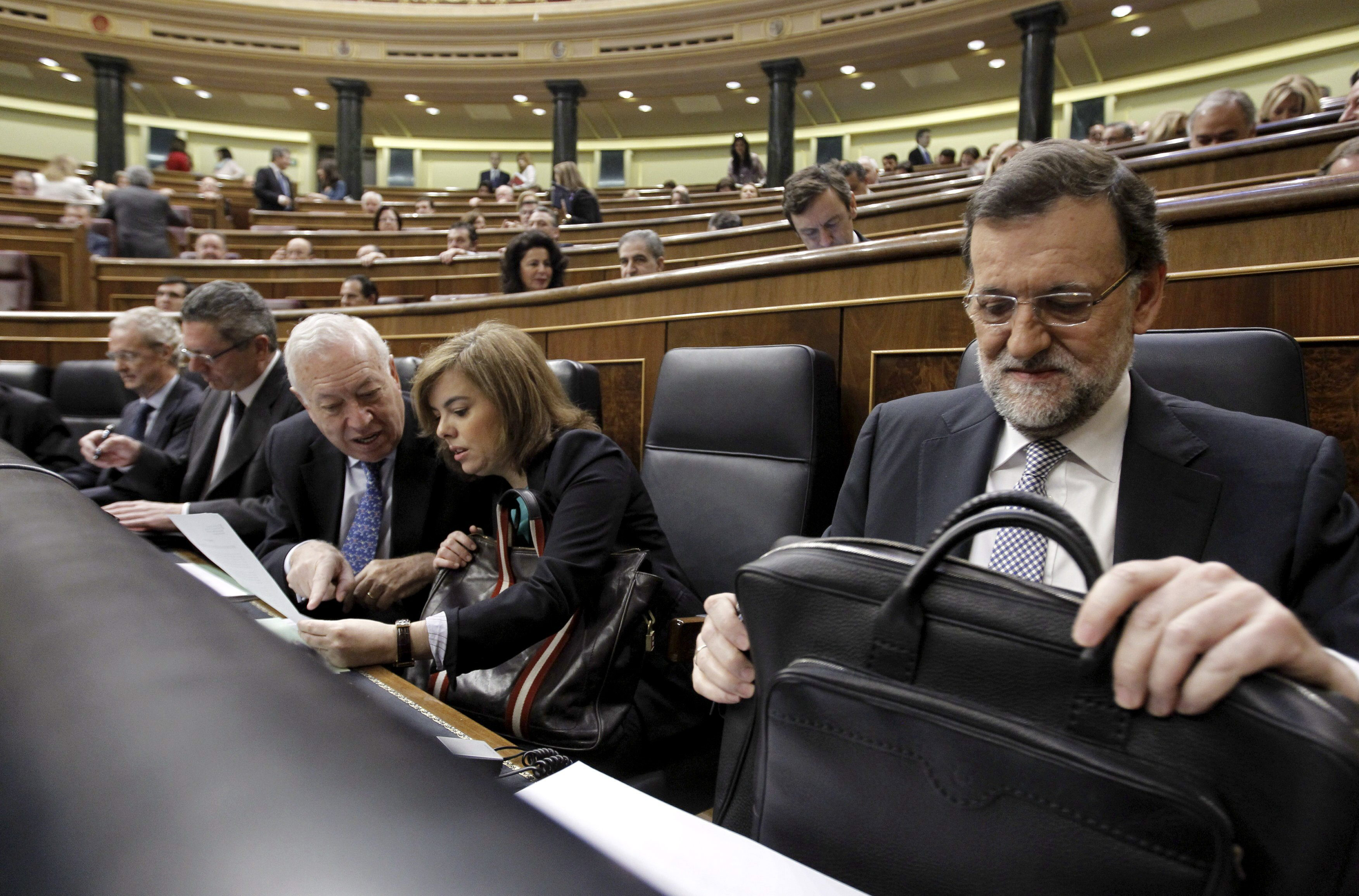 Rajoy dice que hablará con quien tenga que hablar en defensa de un proyecto común