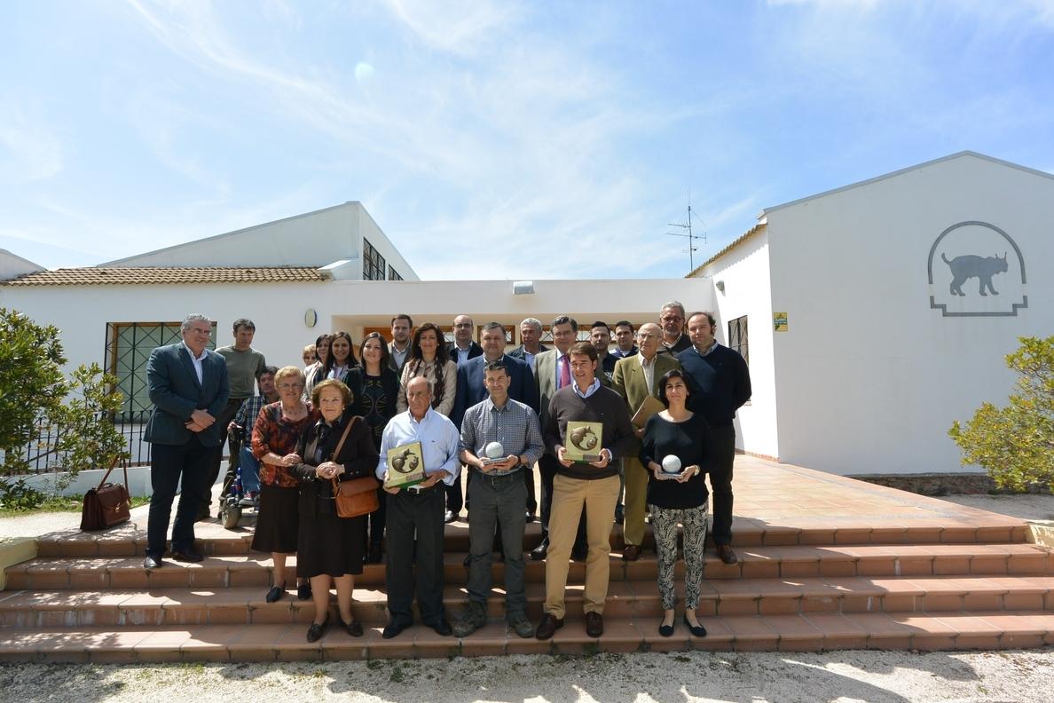 La Junta Rectora del Parque Sierra de Cardeña y Montoro entrega los premios »Lince Ibérico» y »Bolo»