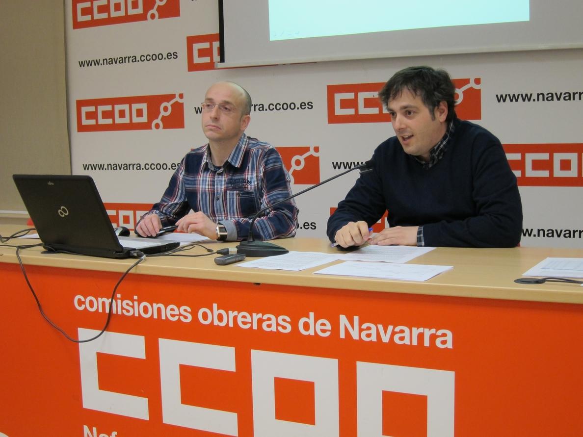 La Ribera y la Sakana son las zonas navarras más castigadas por el desempleo, según un informe de CCOO