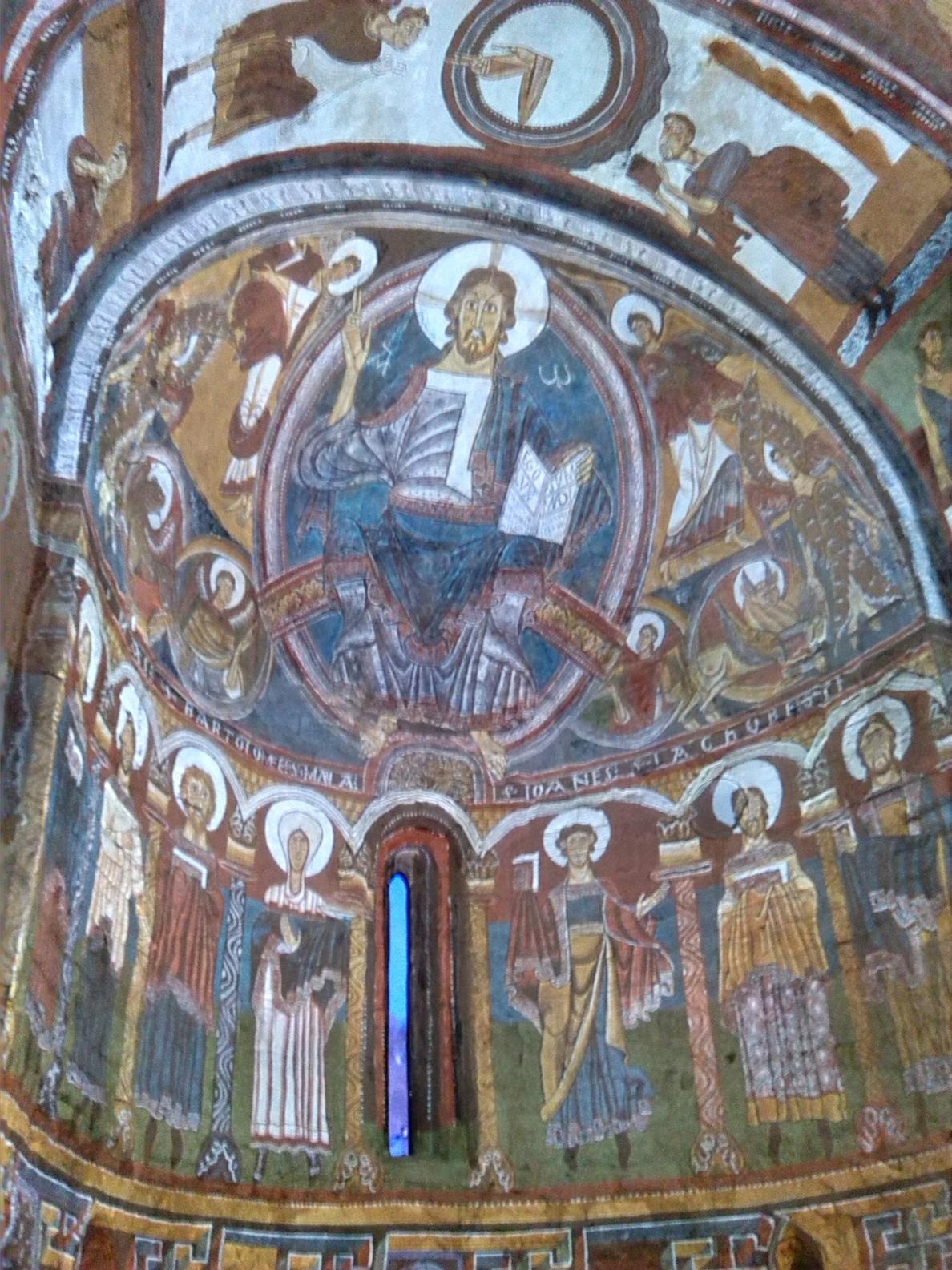 Las pinturas virtuales de Sant Climent de Taüll, premiadas por »Museums and the Web»