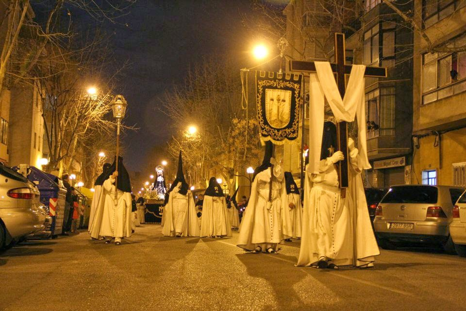 Horarios e Itinerarios de las procesiones de Palma de Mallorca en Semana Santa 2014
