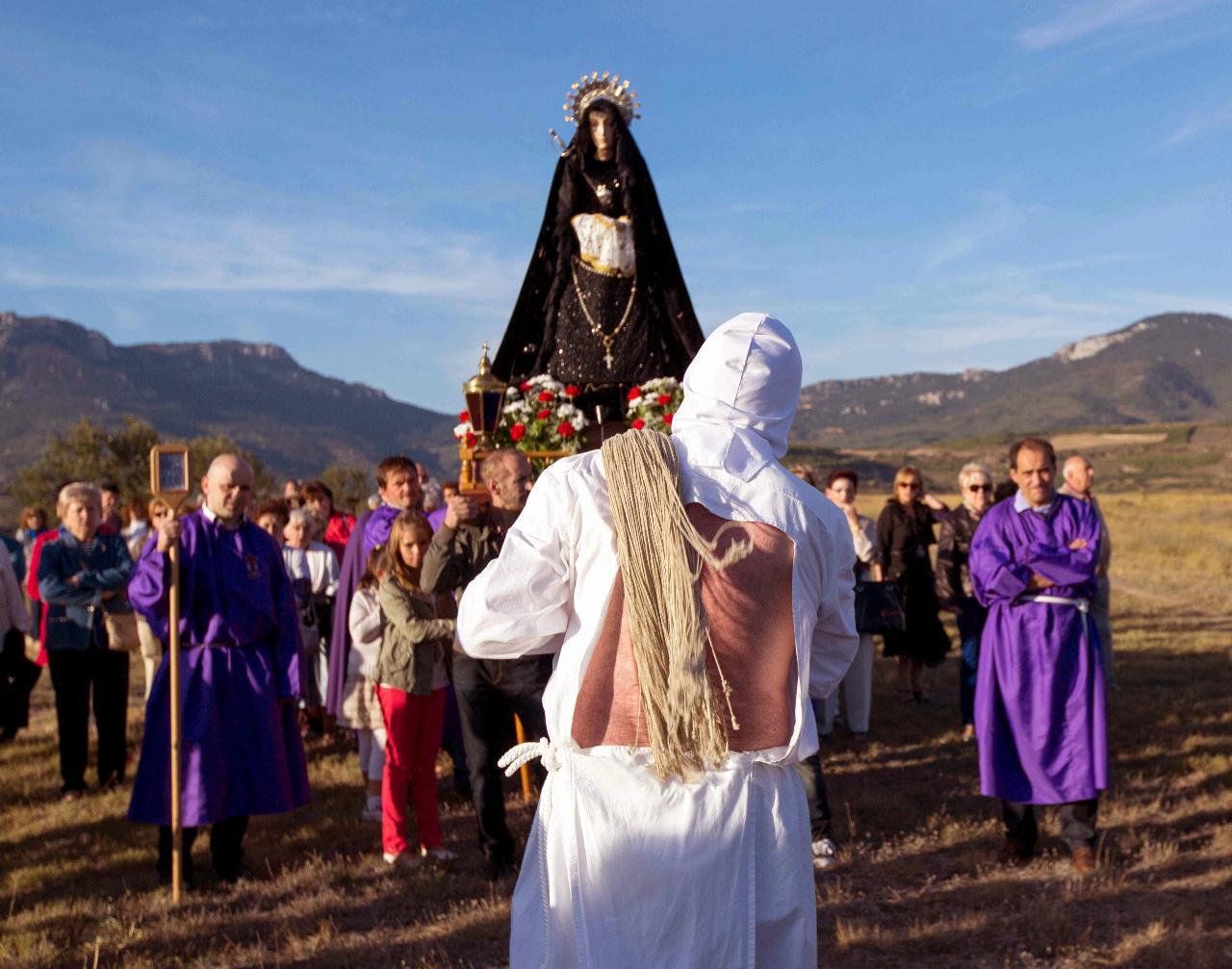 Horarios e Itinerarios de las procesiones de Logroño en Semana Santa 2014