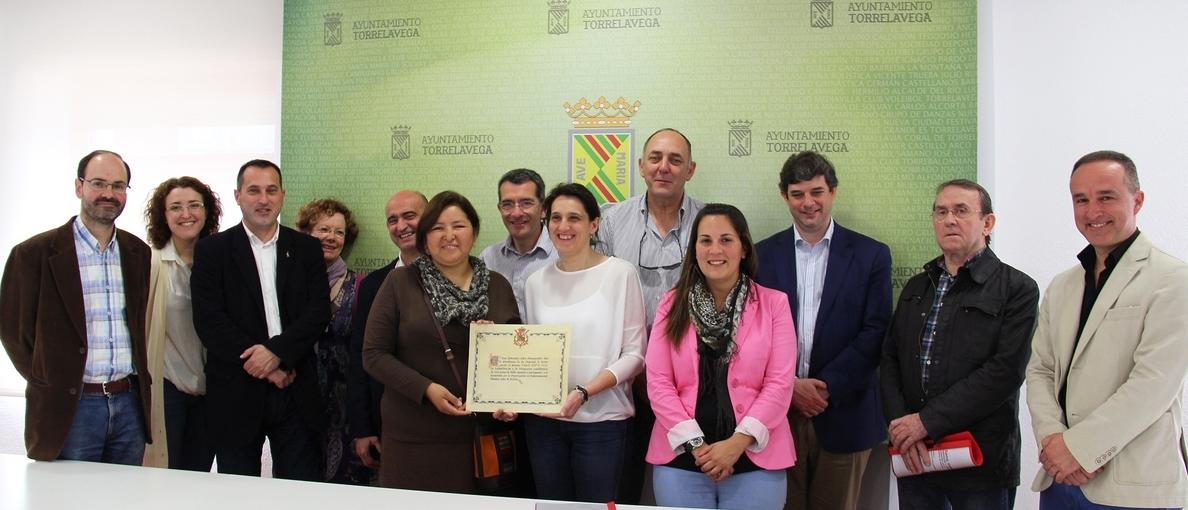 Torrelavega felicita a Amica por el Premio Reina Sofía