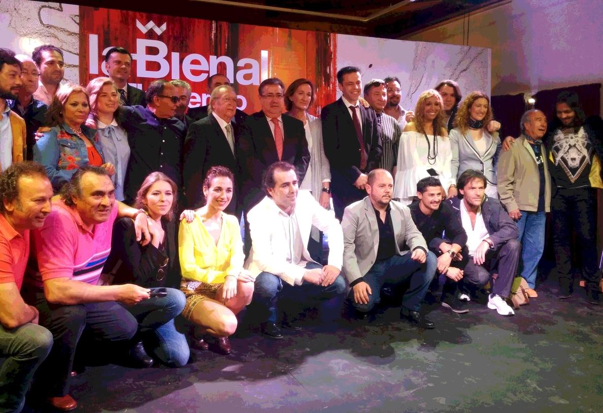 Un total de 66 espectáculos, 20 estrenos absolutos y dos nacionales, en la Bienal de Flamenco 2014