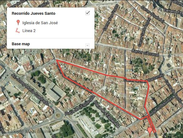 Procesión de Jueves Santo en Mahón, Menorca