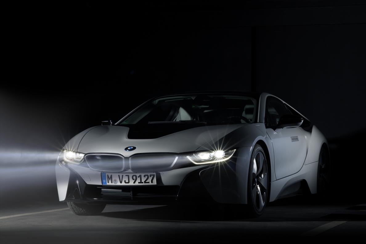 BMW lanzará en otoño el primer modelo de serie con luz láser