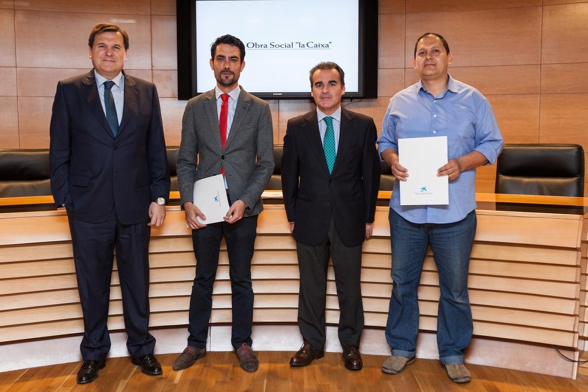 La obra social La Caixa destina 45.150 euros a dos proyectos sevillanos sostenibles
