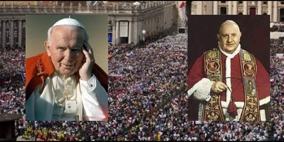 Roma gastará 8 millones de euros en la canonización de Juan Pablo II y Juan XXIII