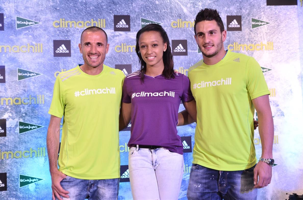 Koke, Chema Martínez y Ana Peleteiro presentan la nueva tecnología Climachill de Adidas