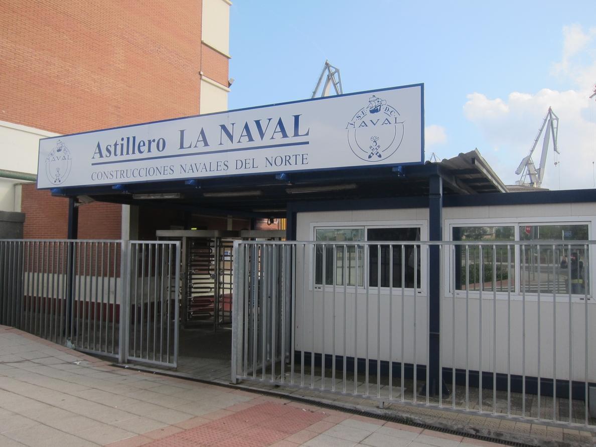 El Comité de La Naval llama a la ciudadanía a manifestarse hoy en Portugalete para reclamar carga de trabajo
