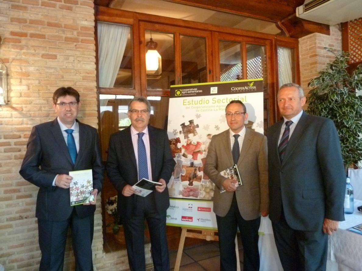 Cooperativas Agro-alimentarias de C-LM aumentan «más de nueve puntos» su facturación de 2007 a 2011