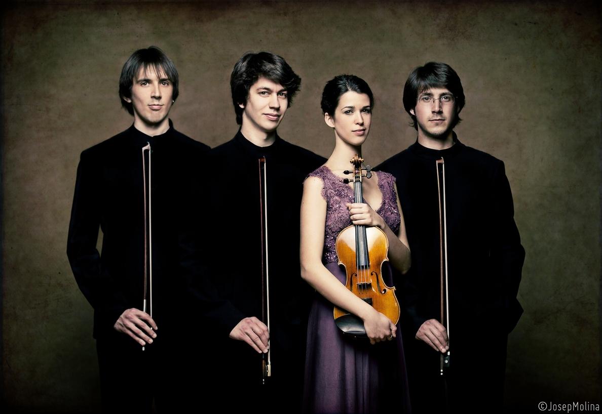 El Cuarteto Gerhard recala en L»Auditori con su intepretación de Mendelssohn y Bartók