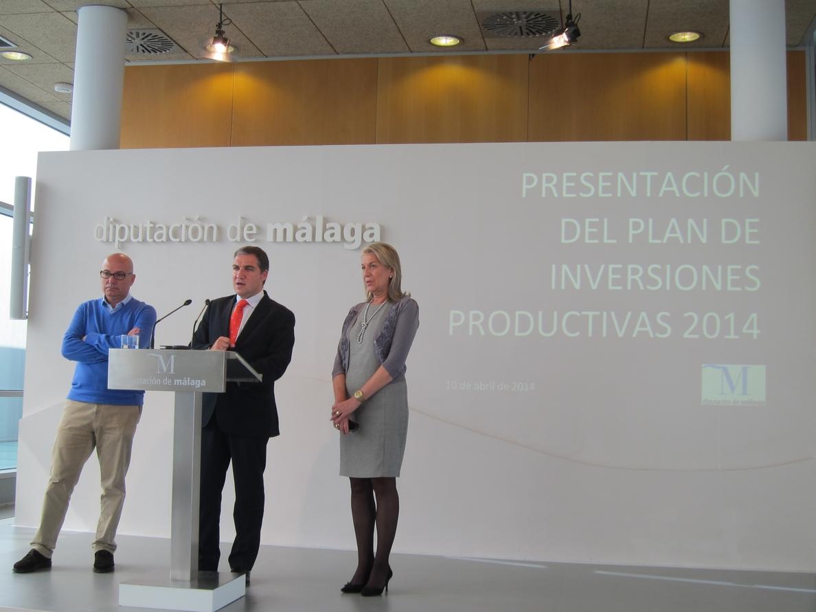 Diputación pone en marcha el plan de inversiones productivas dotado con 24 millones para todos los municipios