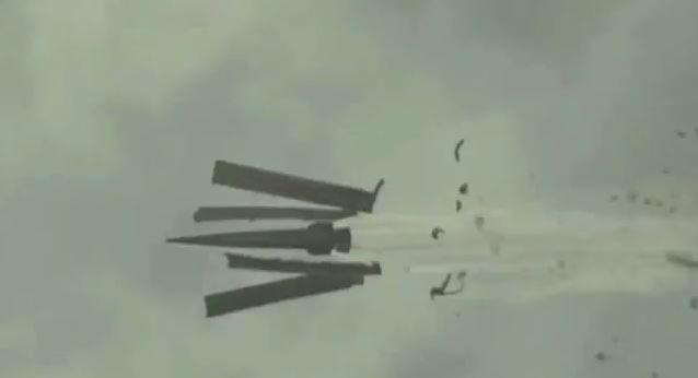 EE.UU fabrica un misil sin pólvora y graba sus efectos a cámara lenta