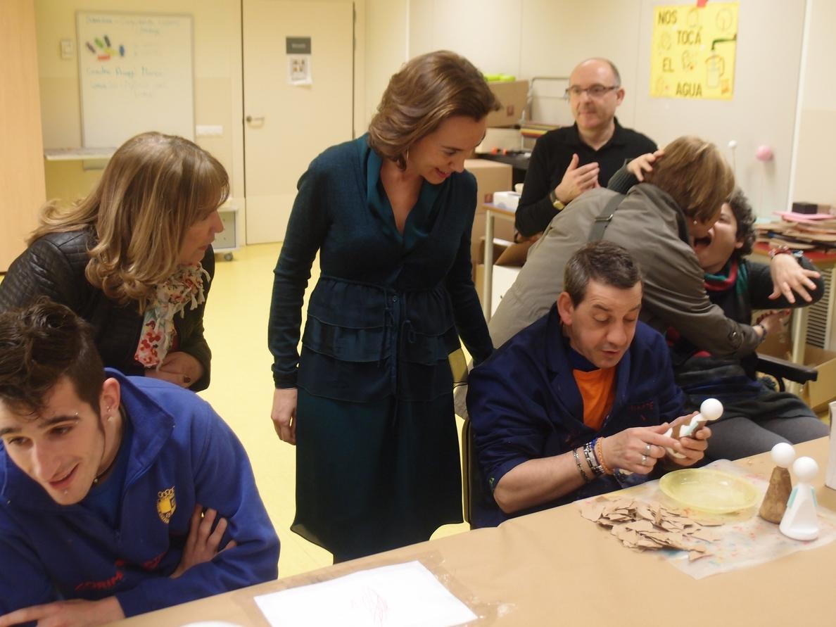 Gamarra destaca la labor de las asociaciones de la discapacidad «en la construcción de una sociedad más inclusiva»