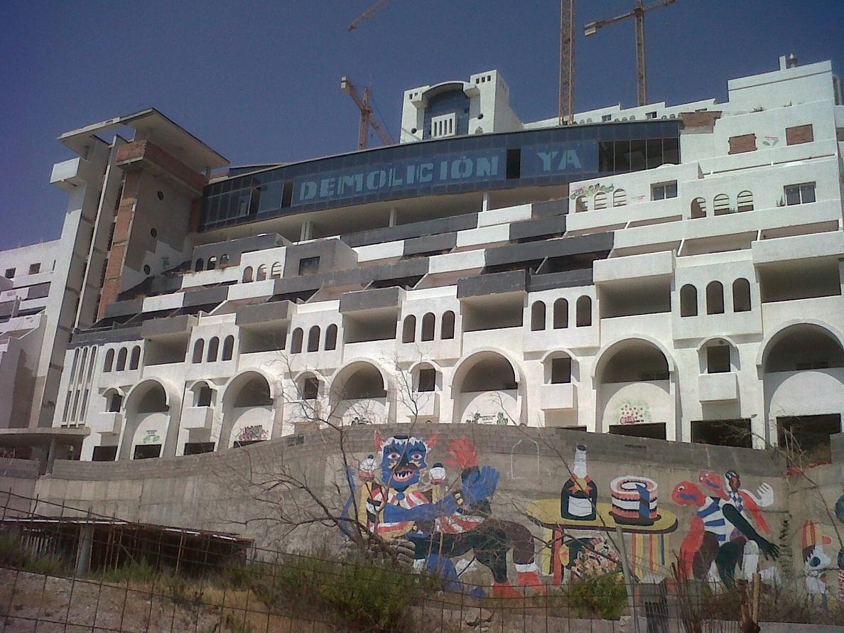 Greenpeace recurre ante el TS la sentencia que dice que el suelo de El Algarrobico es urbanizable