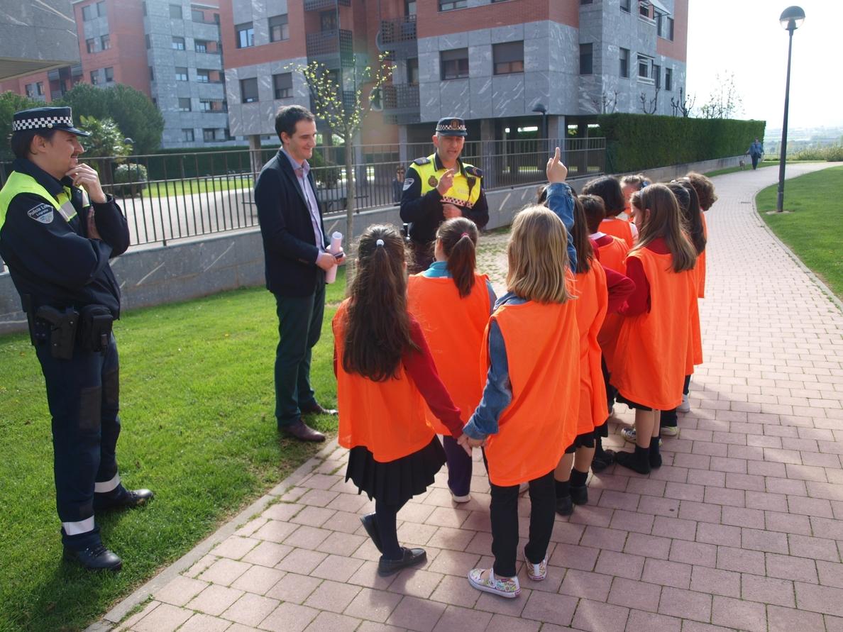 Más de 4.000 alumnos de Infantil y Primaria participan en la Educación Vial que imparte la Policía Local
