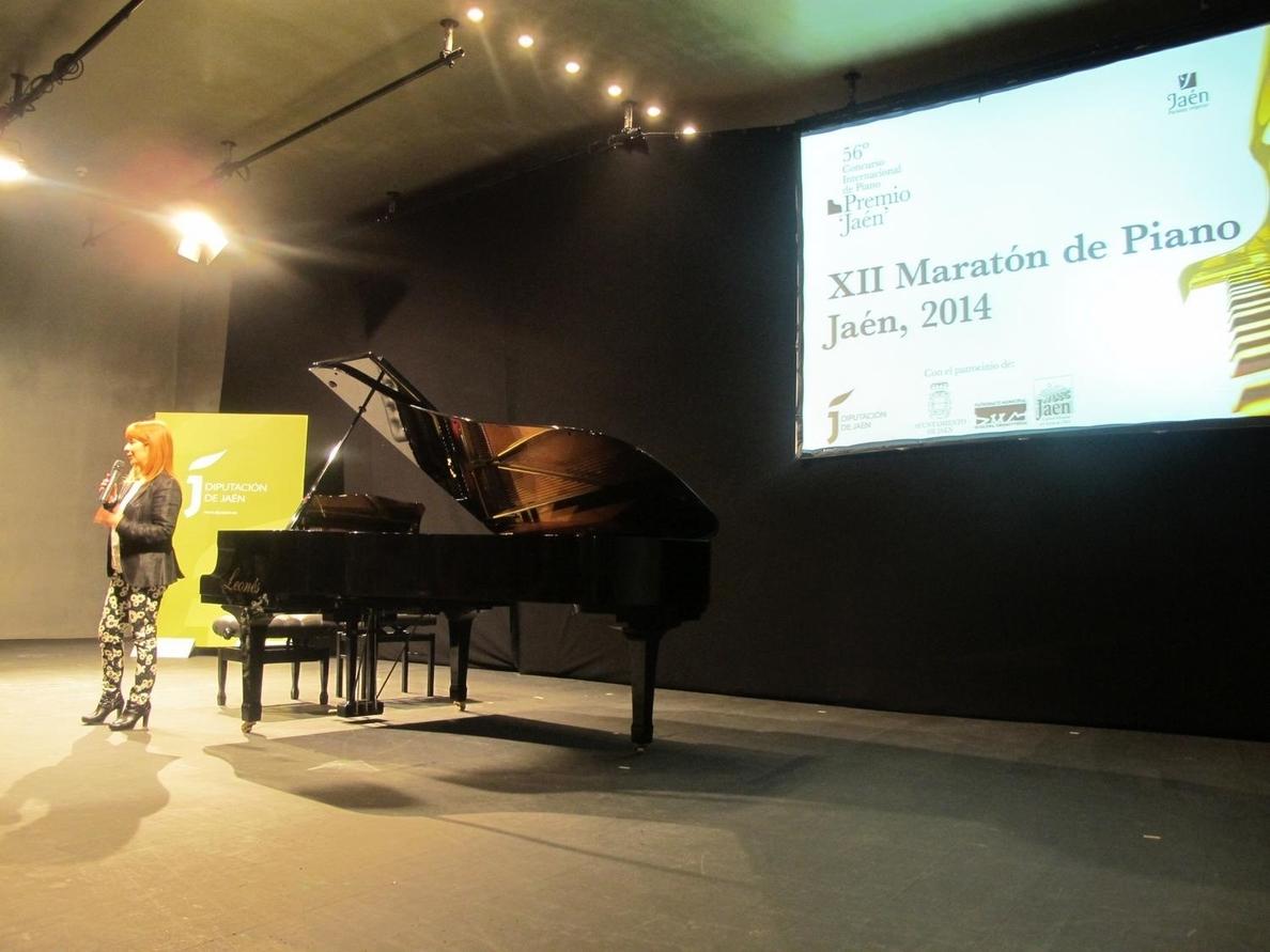 Más de 440 estudiantes participan en el Maratón de Piano de la Diputación, anticipo del Premio »Jaén»