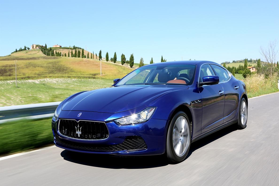 Maserati multiplica casi por 5 sus ventas en España