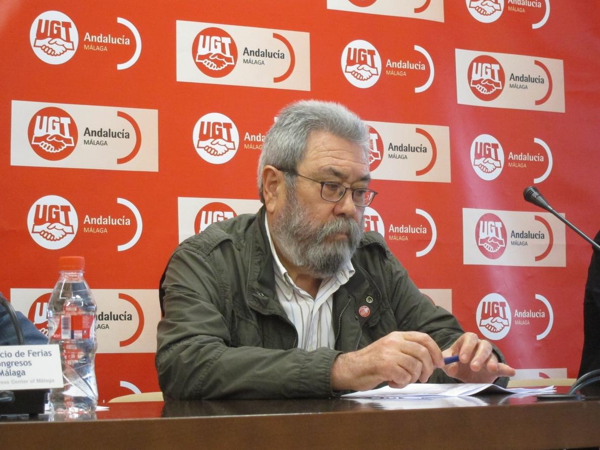 Méndez (UGT) afirma que PSOE e IU deben «buscar fórmulas de entendimiento» para mantener el Gobierno de coalición