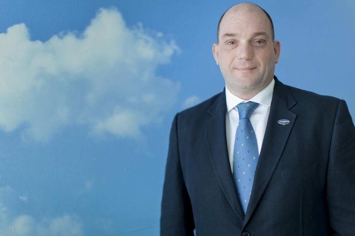 Mitchell Peeters, director general de Goodyear Dunlop Iberia