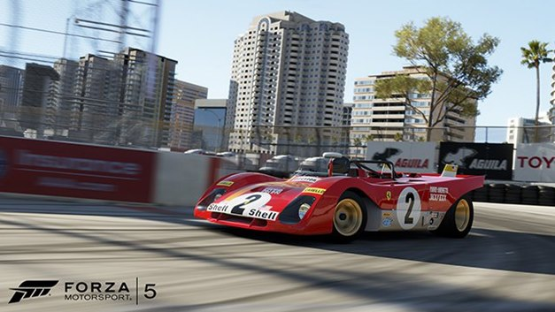 Forza Motorsport 5 recibe el Circuito Long Beach, llamado el »Mónaco de América»