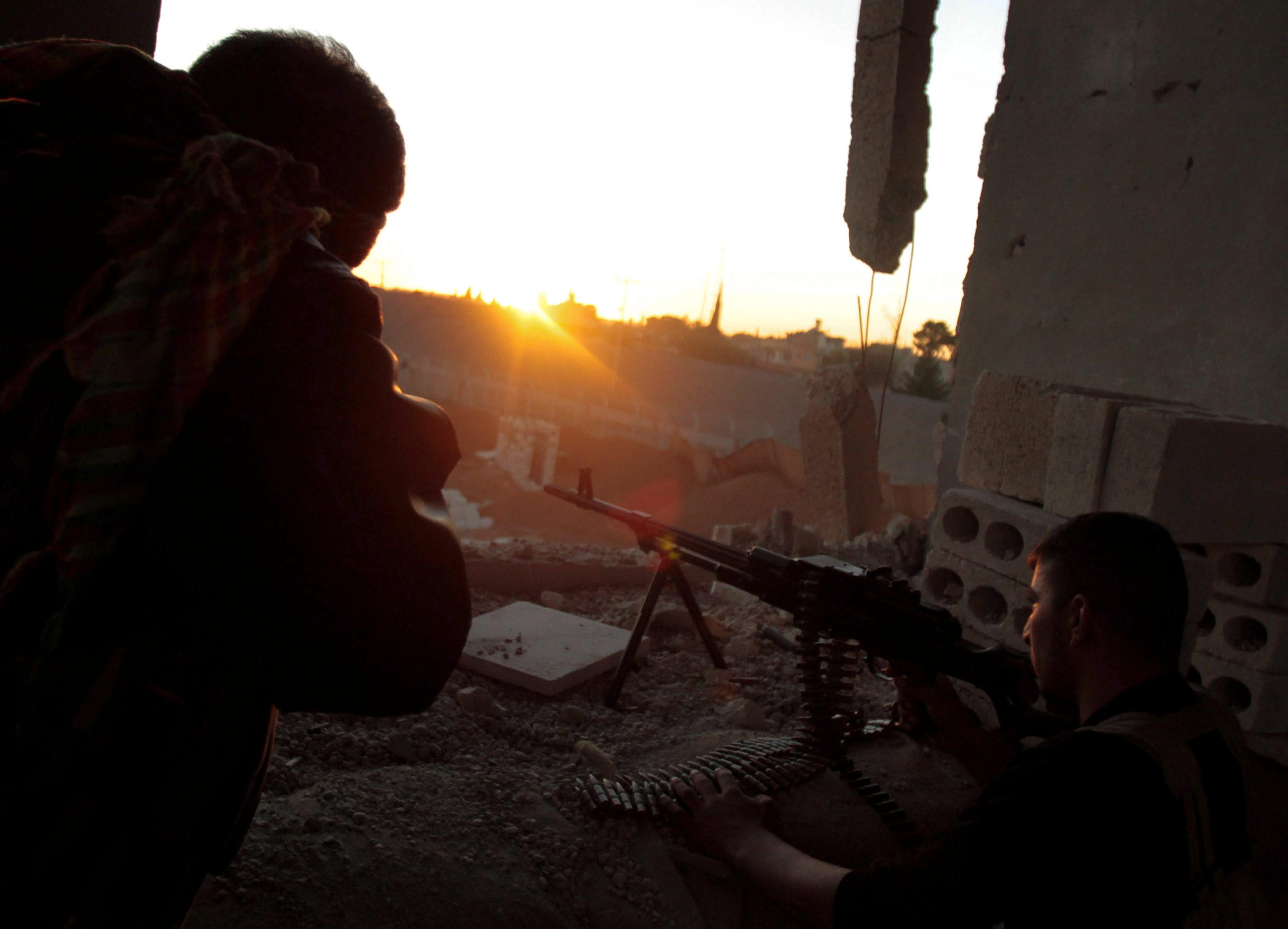 Mueren 15 combatientes yihadistas en choques en el noreste de Siria