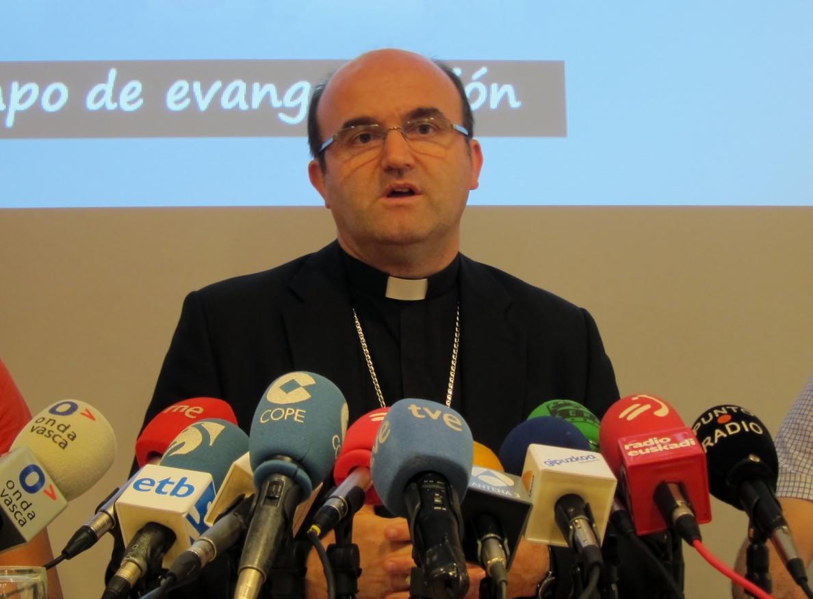 Obispo de San Sebastián pide que se corrija el error que impide marcar las dos opciones de Iglesia y fines sociales
