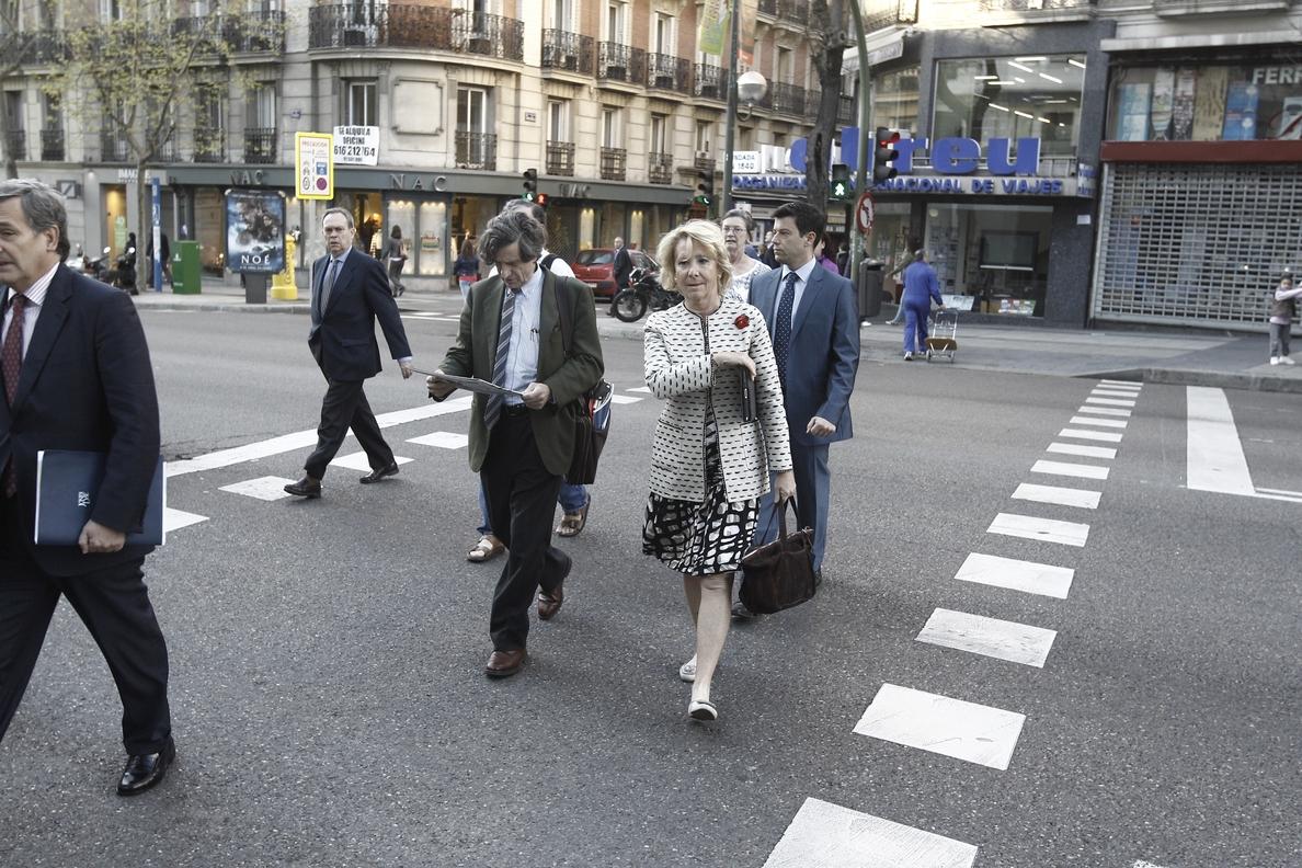 El PSM pregunta en el Senado por la vigilancia en la casa de Esperanza Aguirre