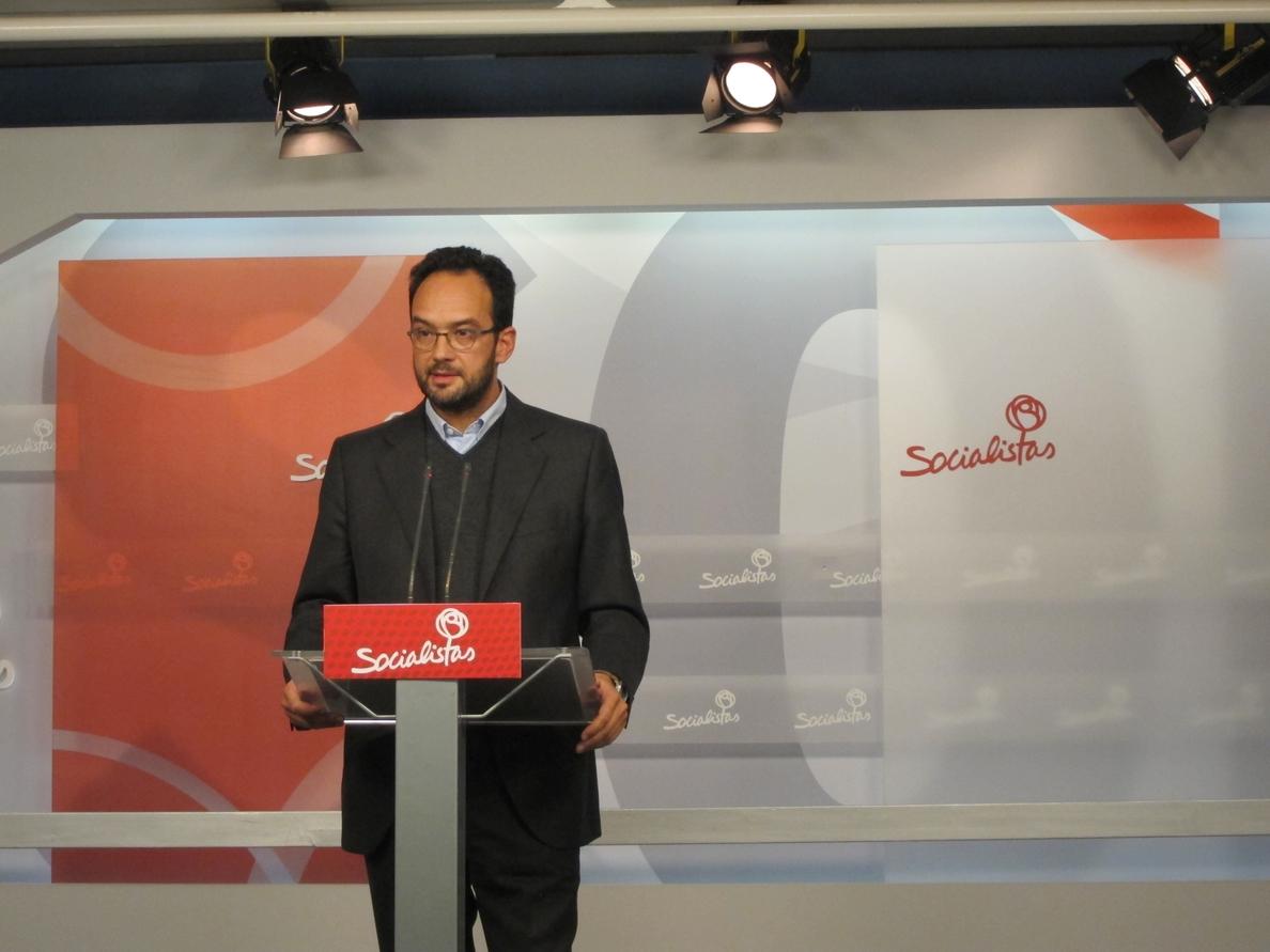 PSOE insiste que «nadie duda» de la »caja B» del PP y hoy «lo que se dilucida» es «cómo se repartió el pastel»
