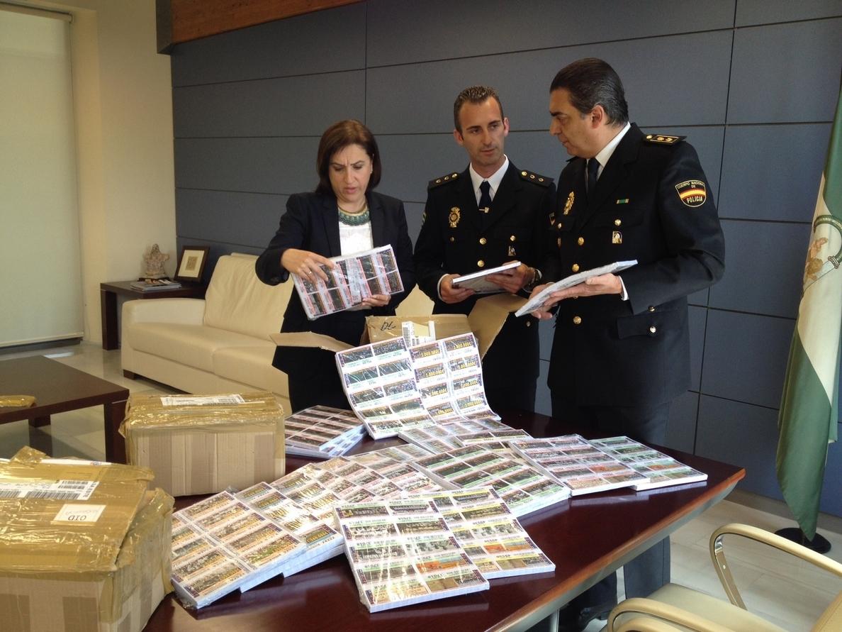La Policía adscrita a la Junta interviene más de 28.000 boletos de una lotería ilegal
