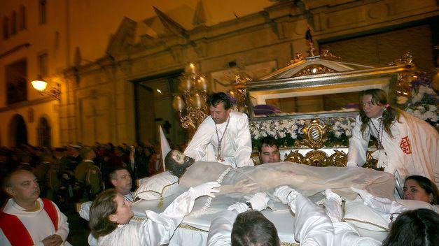 Procesión general del Santo Entierro, Valencia