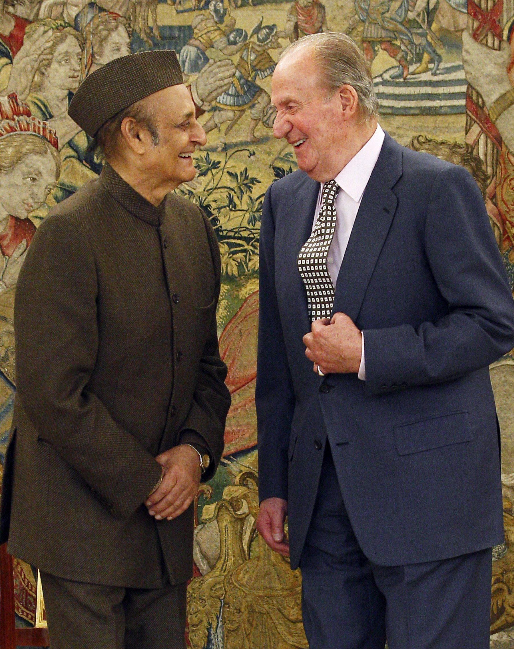 El Rey recibe al presidente del Consejo Indio de Relaciones Culturales